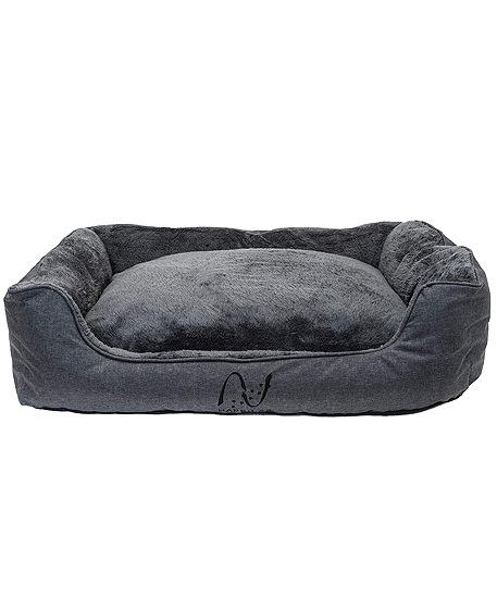 cama felpa relleno con bordes elevados