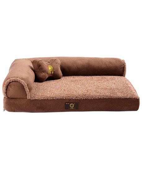 cama para mascotas lavable con almohada para perro galgo